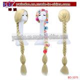 Cosplay парика продукты волос прямой белокурой оплетки длиной синтетические (BO-3075)