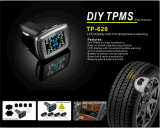 Système de surveillance de la pression des pneus TPMS avec 4 capteurs