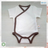 Roupa ecológica amigável para bebês Gots Front Opening Baby Clothing