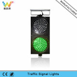 Подгонянный светофор зеленого цвета 300mm солнечной силы красный