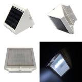 Lámpara de pared solar de la iluminación del jardín de 4 LED