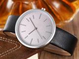 Кварца wristwatch кожаный планки вахт повелительниц нержавеющей стали хорошего качества способа Yxl-394 вахта женщин тонкого прелестно