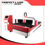 Máquina de estaca do laser da fibra do metal de folha