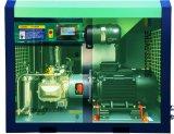 El Ce certificó el compresor de aire rotatorio sin aceite del tornillo del 100% (30KW, 10bar)