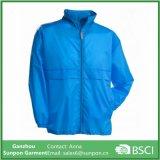 Water-Resistant Blue Man Coat Casaco Windbreaker