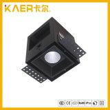 Projector Recessed da grade do diodo emissor de luz 7W do CREE luz quadrada