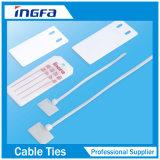 Plaque signalétique en acier inoxydable 316 pour câbles