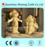 Tamanho Mini Bebê Resina Anjo Decoração Bonitinha Angel pequenas figuras