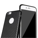 Корпус из углеродного волокна PU жесткий чехол для iPhone 6 6s