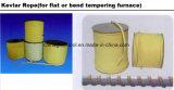 Pezzi meccanici di vetro, cinghia di tempera di vetro resistente a temperatura elevata della corda di Kevlar della fornace
