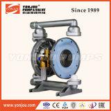 Pompe à membrane avec conduite pneumatique