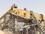 Roca agregada de la producción que machaca la línea para la piedra caliza (250TPH)