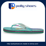 Горячие зеленые сандалии Flops Flip ЕВА девушки отдыха пляжа лета