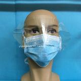 Het niet-geweven Beschikbare Masker van het Gezicht met Plastic Schild