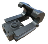 Le bâti en acier de cire perdue partie le constructeur