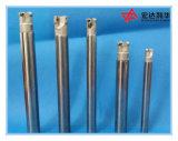 Barra aburrida modificada para requisitos particulares de la vibración anti del carburo con el orificio del líquido refrigerador
