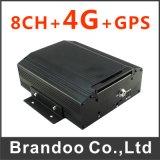 4G LTE de 8 canales DVR portátil con Cms gratuito