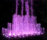 LED 빛과 춤 음악 분수
