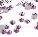 Mixta Rhinestone del color del corte de uñas de cristal de piedra para el arte del clavo