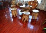 Revêtement de sol en stratifié en relief pour salon / Cuisine / Lit Chambre / Salle d'enfants