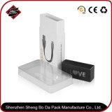Het aangepaste Verpakkende Vakje van de Kabel van de Telefoon van het Karton van het Document van het pvc- Venster Verpakkende