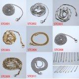 De Ketting van het Graan van het roestvrij staal voor de DwarsHalsband van het Medaillon (iO-Stc011)
