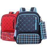 Sac moderne de sac à dos de campus de course d'école d'élève avec la porte-bouteilles