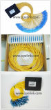 PLC van de Telecommunicatie van Gpon 1X64 de Plastic Doos van de Splitser