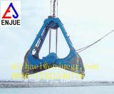 Gancho agarrador de dragado de la cubierta de cuatro cuerdas para el fango de la arena en existencias