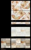 6D azulejo de la porcelana del azulejo de la pared interior de la inyección de tinta 300X600m m para la decoración casera (6317)
