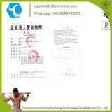 China Factory Steroid Hormone Testosterone Cypionate Powder CAS: 58-20-8