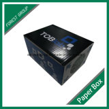 Caja brillante Blanco Embalaje ondulado con colores personalizados