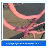 静電気のかなりピンクの自転車フレームの粉のコーティング