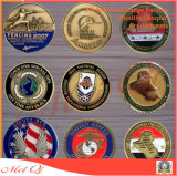 Moneta a doppia faccia del metallo del ricordo di varie figure