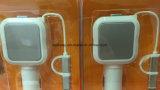 Cable retráctil con 2 en 1 salida USB Micro USB cargador de coche y el relámpago