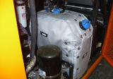 Rivestimenti rivestiti di teflon dell'isolamento termico per i tubi chimici