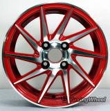 Rueda de aluminio de la aleación del coche de 14 pulgadas para todas las clases de marca de fábrica del coche