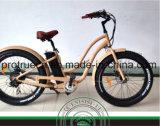 Bicyclette électrique de croiseur bon marché de plage
