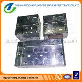 Caja eléctrica de acero galvanizado conducto