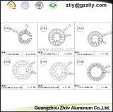 Disipador de calor de aluminio del perfil de la marca de fábrica china del honor/material de construcción de aluminio