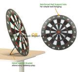 Gioco, sport e scheda di dardi dell'interno di pratica con l'ago dei dardi