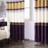 Cortina de indicador lisa do escurecimento do algodão para o quarto (27W0030)
