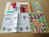 Jouets de papier des gosses DIY pour l'Animal-Singe