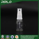 Bouteille en verre à 15 ml avec bouteille en plastique avec pulvérisateur en plastique