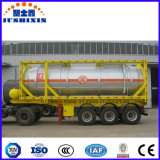 24000L de chemische Corrosieve Giftige Vloeibare Container van de Tank met ISO Csc