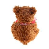 Het in het groot Stuk speelgoed van de Jonge geitjes van de Teddybeer van de Pluche van de Douane met Hart Emoji