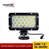 """Indicatore luminoso del lavoro di 24watt LED di alto potere luminoso eccellente 7.5 """""""
