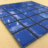 Het donkerblauwe Kleur Verglaasde Mozaïek van het Porselein voor Zwembad (C648011)