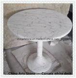 De witte Badkuip van de Badkamers van Bianco Carrara Marmeren