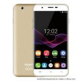 auf lager Oukitel U7 maximales Vierradantriebwagen-Kern 1g des Handy-5.5 des Zoll-HD des Bildschirm-Mtk6580A DES RAM-8g ROM-8MP Telefon-im intelligenten Telefon-Gold Kamerades android-6.0 3G WCDMA
